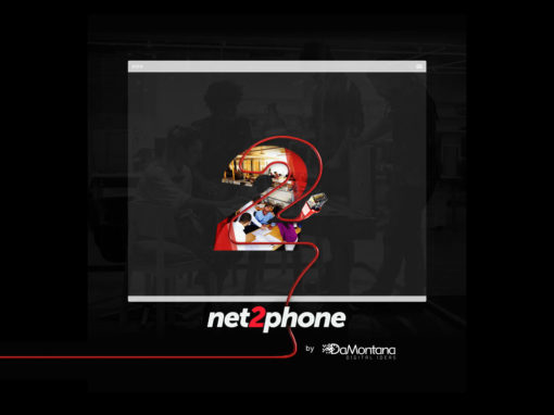 Net2Phone web design