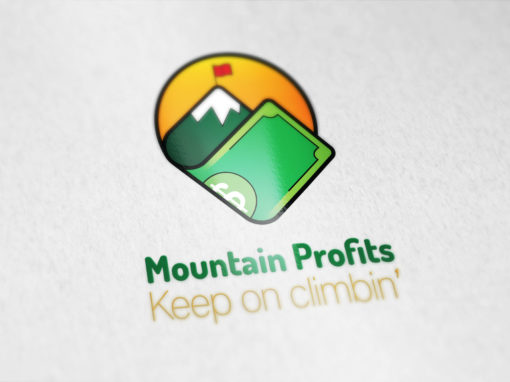 Mountain Profits – Logo design branding